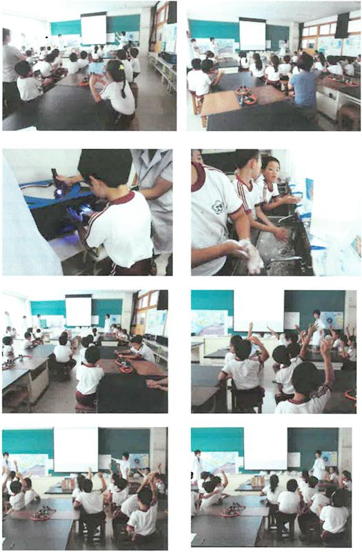 いわき市立好間第一小学校3年生 手洗い教室-17